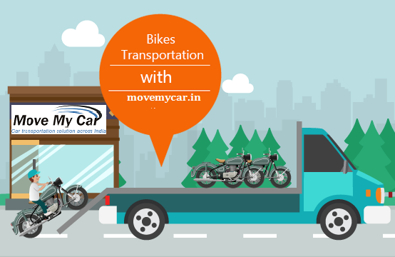 Bike Transportation in Delhi - MoveMyCar