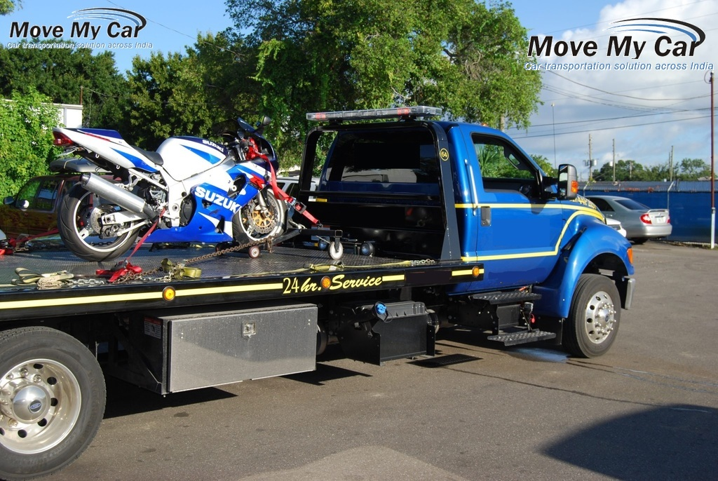 Bike transportation companies in Gurgaon-MoveMyCar