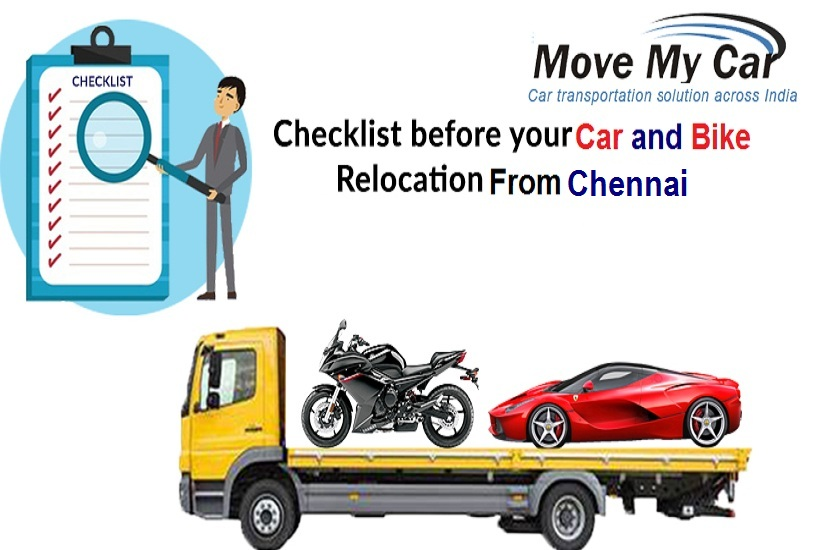 Car Bike Relocation From Chennai - MoveMyCar