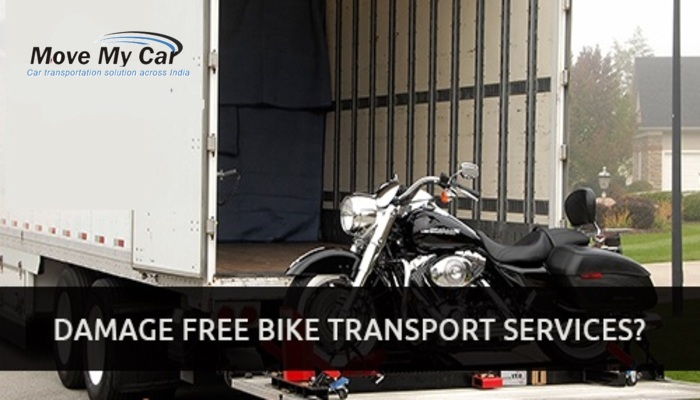 Damage Free Top Bike Transport Services in Bangalore India - MoveMyCar