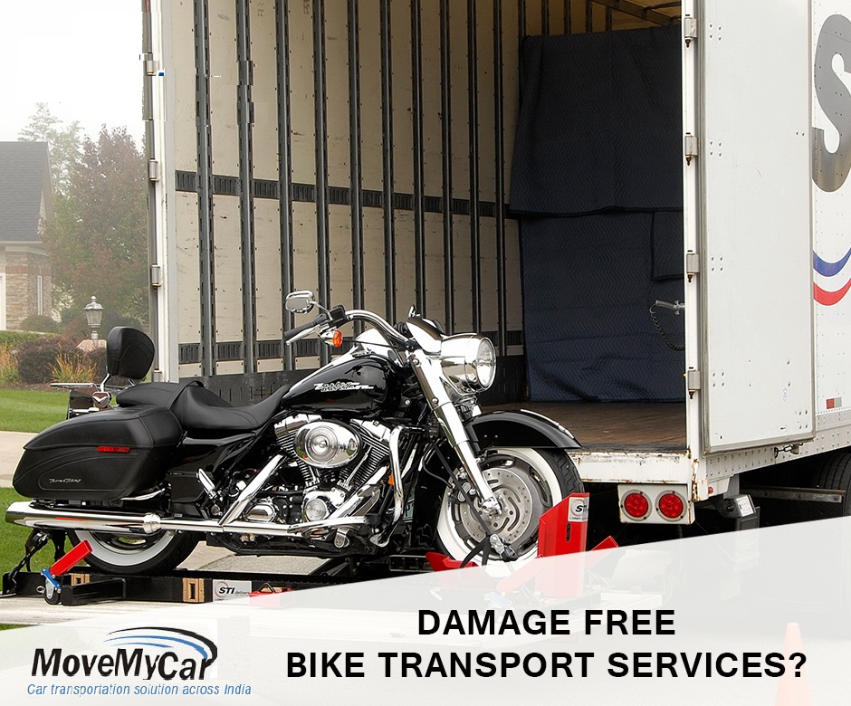 Damage Free Top Bike Transport Services in Gurgaon India - MoveMyCar