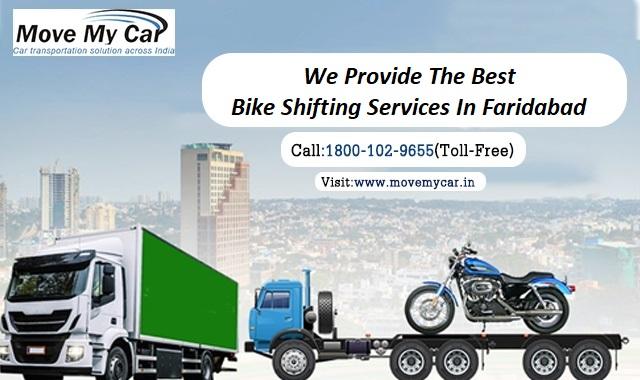 Bike Transportation Services in Faridabad