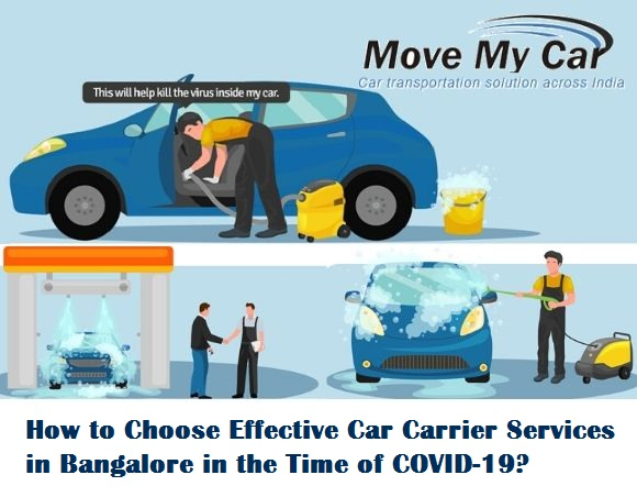 Bike and Car Carrier Services in Bangalore in the Time of COVID-19 - MoveMyCar