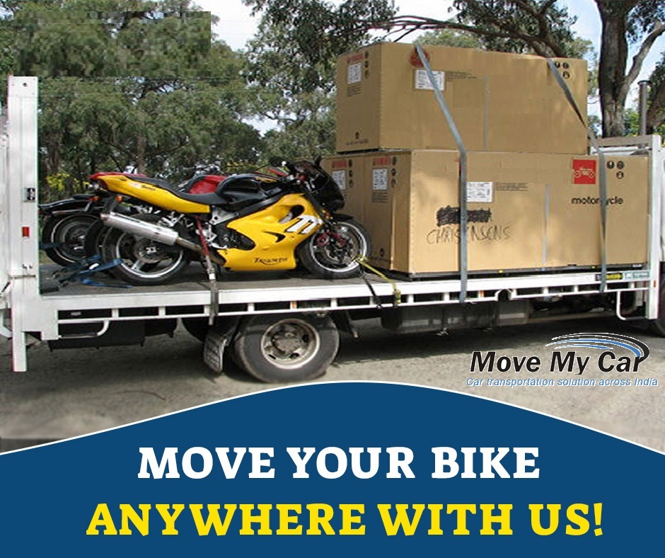 Move your Bike anywhere in India with us - MoveMyCar