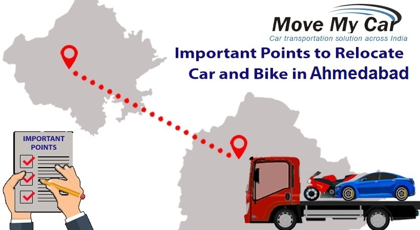 Car and Bike Transportation in Ahmedabad