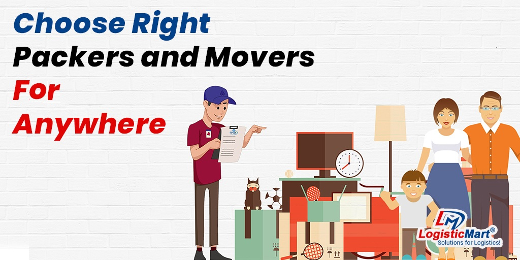 Choose Right Packers and Movers in Pune - LogisticMart