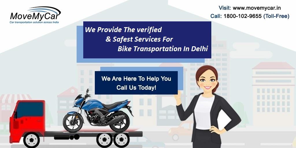Bike Transportation Services in Delhi