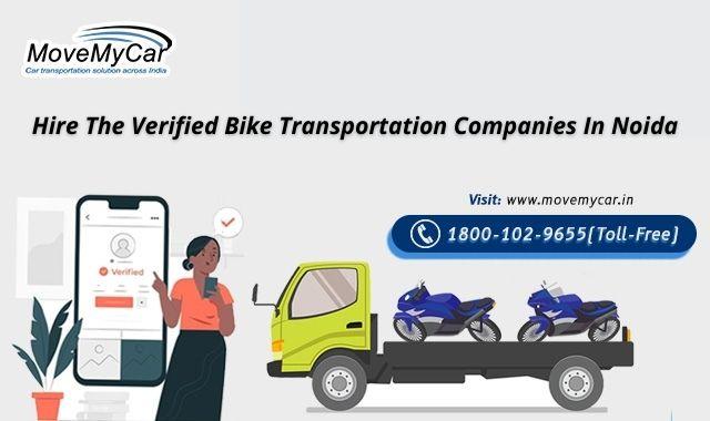 Motorcycle Transport Companies in Noida